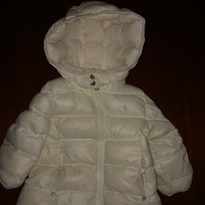 Ralph Lauren Baby girl down coat size 18 months